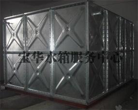 内蒙古热镀锌水箱