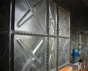 内蒙古瓷钢板水箱
